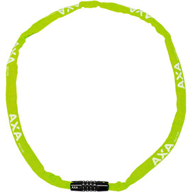 Axa Rigid Code Antivol 120cm, green